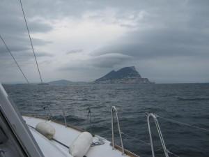 Гибралтар с юга.